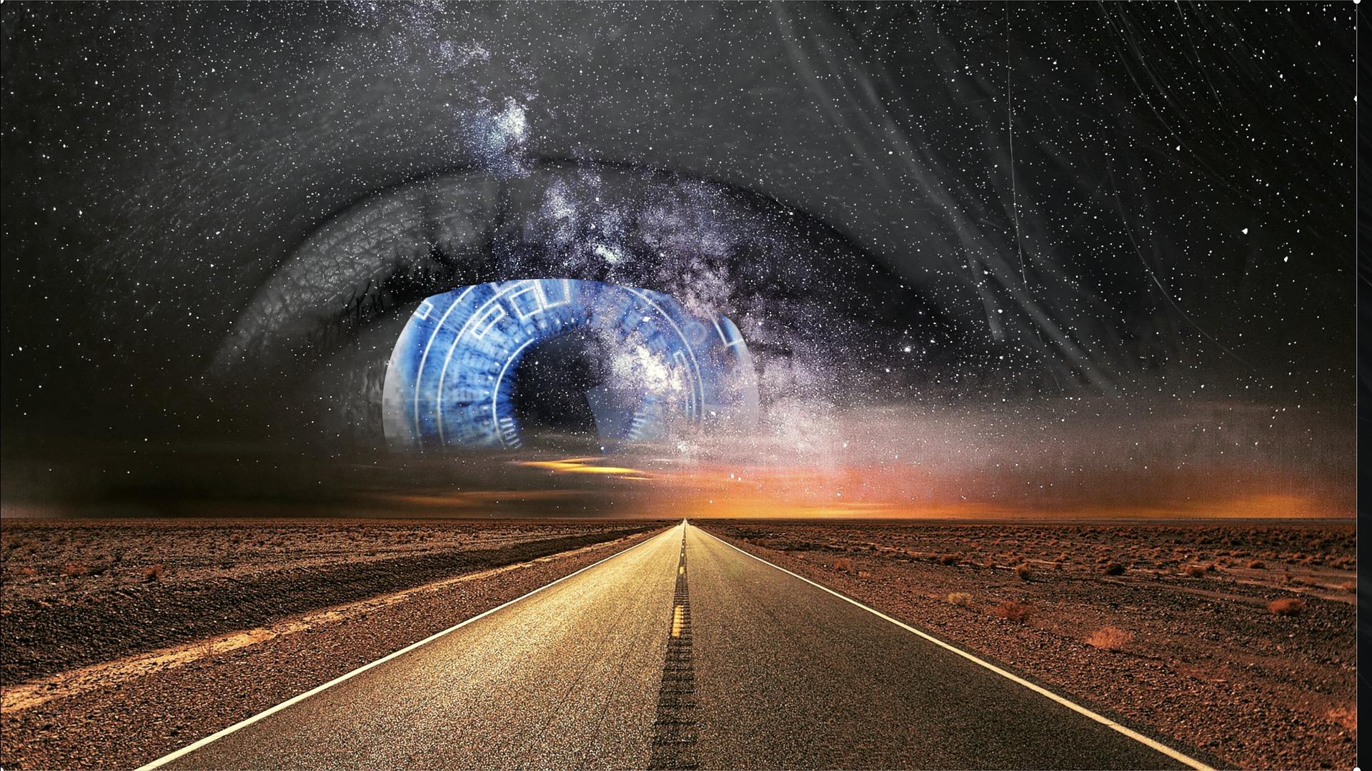 az út nyílegyenes, ezt láthatod minden eddiginél tisztábban